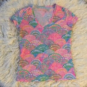 Lily Pulitzer Pink Shirt (Size S)